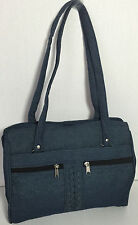 New Denim Blue shoulder bag purse organizer Handbag Gold coast