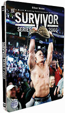 Official WWE Survivor Series 2008 Steel Book DVD (Used)