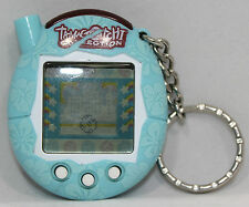 2004 Tamagotchi Connection Blue with Hawaiian Flowers V4 *As Is*