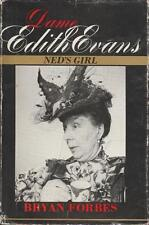 Dame Edith Evans Ned's Girl Biography Bryan Forbes 1978 British Theater Films
