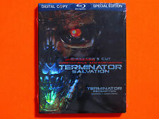 TERMINATOR SALVATION Director's Cut Bluray **Brand New & Sealed**