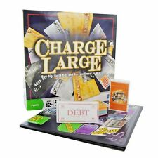 CHARGE LARGE THE CREDIT CARD BORROWING GAME! PARKER 2009 BRAND NEW SEALED AGE 12