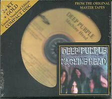 Deep Purple Machine Head 24 Karat Gold CD Audio Fidelity Neu OVP Sealed Nr.  OOP