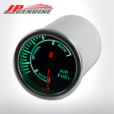 "2"" SMOKE-TINTED 7 COLOR SHIFT LED RACING AIR FUEL RATIO METER GAUGE - UNIVERSAL"
