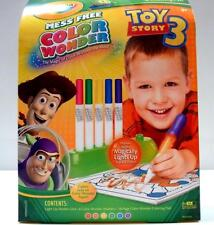 Crayola Mess-Free Color Wonder Toy Story3 Light Up Markers and Coloring Pad