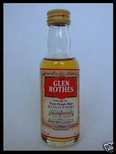 Glenrothes 12 years old scotch whisky 43% 50ml MINI COLLECTORS BOTTLE