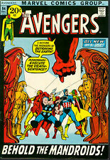 Avengers 94 NM WHITE Picture-Frame Cover NEAL ADAMS `71 Thor Iron Man Capt. Amer