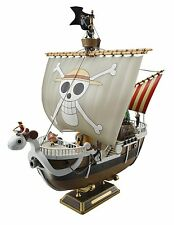 Bandai Japan ONE PIECE Going Merry Ship Plastic Model kit w/ 6 small figures