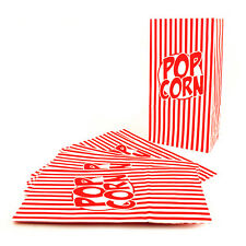 Pack of 10 X Popcorn Treat Box - Large Style Boxes Favour Party Paper Loot Bags