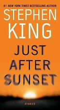 Just after Sunset by Stephen King (2009, Paperback)