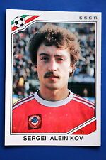 Panini WC MEXICO 86 STICKER N. 192 SSSR ALEINIKOV  WITH BACK VERY GOOD/MINT