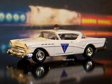 1957 BUICK ST. LOUIS , MISSOURI POLICE CAR 1/64 SCALE COLLECTIBLE DIECAST MODEL
