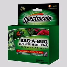 New SPECTRACIDE ~BAG A BUG~ Japanese Beetle Trap 2 *6* REPLACEMENT BAGS HG-56903