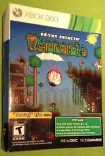 Terraria Collectors Edition Xbox 360 #27 082/30 000 Bilingual Canada