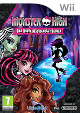 Monster High Nuova Mostramica A Scuola Nintendo WII NAMCO