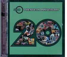 RYKIDISC TWENTIETH ANNIVERSARY 2 CD bowie sugar misfits zappa hendrix + booklet