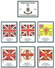 The Worcestershire Regiment 2nd Series of Trade Cards Sent Post Free