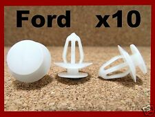 10 FORD push type retainer bumper fender clip fastener front rear 55K