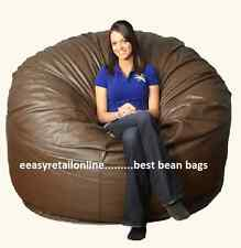 "The BIGGEST Bean Bag Super BIG Jumbo XXXXL 52"" Brown Bean Bag COVER ONLY"