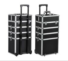 Professional Makeup Trolley Case Hairdressing Storage Beauty Vanity Organiser UK