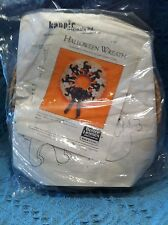 "NEW 1987 BETTER HOMES AND GARDENS CRAFT KIT ""HALLOWEEN WREATH"" #6612"