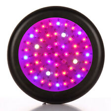 150W Full Spectrum UFO LED Plant Grow Light lamp for Hydro DUAL VEG FLOWER Black