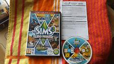 THE SIMS 3 Island Paradise espansione edizione limitata PC/Mac DVD v.g.c. Post veloce