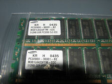 1GB Kit Samsung M381L6423FTM-CCC PC3200 400MHz 184-Pin DDR1 CL3 ECC Memory