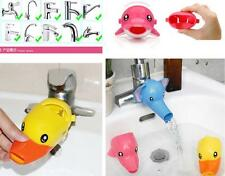 Yellow duck Faucet Extender For Children Kid Hand Washing Helps in Bathroom Hot