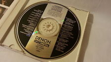 DENON This is Denon II CD JAPAN 1986 CO-1055 Audiophile Mahler Mozart Bach s2191