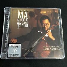 Yo-Yo Ma Soul of the Tango Piazzolla Hybrid Stereo SACD CD Limited No. Edition