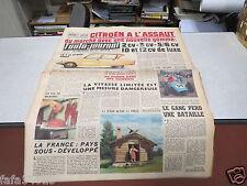 L AUTO JOURNAL N° 246 15 mai 1960 CITROEN A L ASSAUT 2 3 5 6 CV ID 12 DE LUXE*