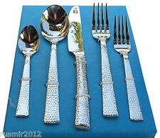 Flatware Set 20 Piece Service for 4 Silverware Stainless 18/10 Premium Quality