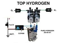 H2 Hydrogen Generator KIT DS-45 FUEL ECONOMY for cars CCPWM WITH HHO FUNCTION.