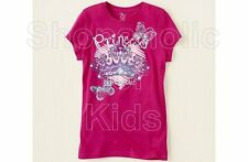 SFK Children's Place Princess Crown Graphic Tee - Crisp Pink