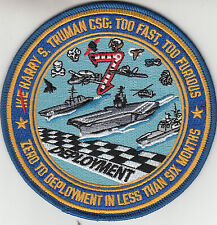 CVW-7 TOO FAST, TOO FURIOUS CRUISE PATCH
