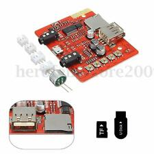 Wireless Bluetooth 4.1 AUX Car Audio Amplifier Module Board USB TF DIY Receiver