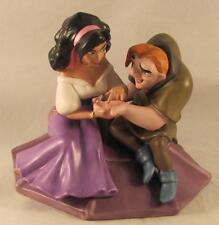Walt Disney Classics Coll WDCC Esmeralda & Quasimodo Not a Single Monster Line