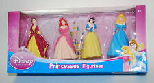 Disney Princess 3 Inch Mini Figure Collectible Figurine Cake Topper 4 Pack