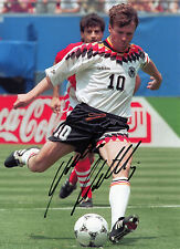 Lothar Matthaus - Germany - USA'94 - Signed Autograph REPRINT