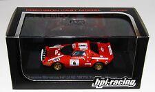 HPI Racing 8072 1/43 Lancia Stratos HF Rallye Tour de Corse 1975 Darniche RARE