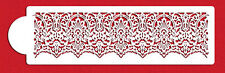 Victorian Lace Cake Border Stencil