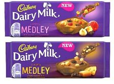 New launches Cadbury Dairy Milk Medley Chocolate 2 New Verity's 1 Bar Per Order