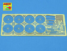 ABER 1/35 PE PHOTO-ETCHED DETAIL SET for TAMIYA ITALERI GERMAN MILITARY BICYCLES