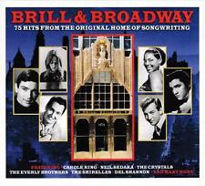 BRILL & BROADWAY - 75 HITS FROM THE ORIGINAL HOME OF SONGWRITING (NEW 3CD)