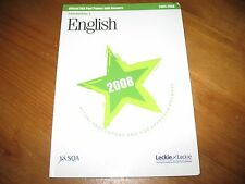 Leckie English Intermediate 2 oficial Past Papers with answeres 2004-2008