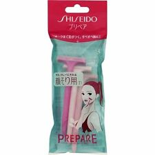 SHISEIDO Prepare T type Razor 3pcs Set For Women Face