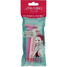 SHISEIDO Prepare T type Razor 3pcs Set For Women Face