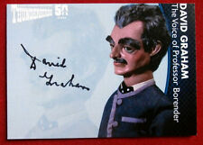 THUNDERBIRDS 50 YEARS - David Graham (Professor Borender) Autograph Card - DG5