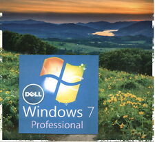 WINDOWS 7 Professional Recovery Disc 32-Bit Install Reinstall Boot Restore DVD